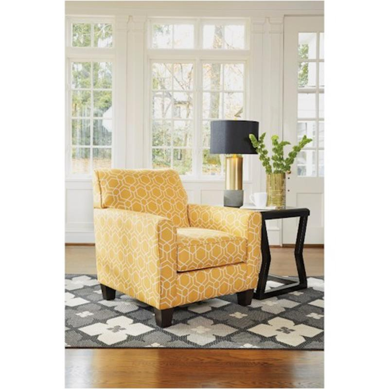 9470221 Ashley Furniture Ayanna Nuvella Gold Accent Chair