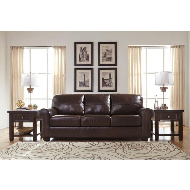 9800238 Ashley Furniture Canterelli   Chestnut Living Room Sofa