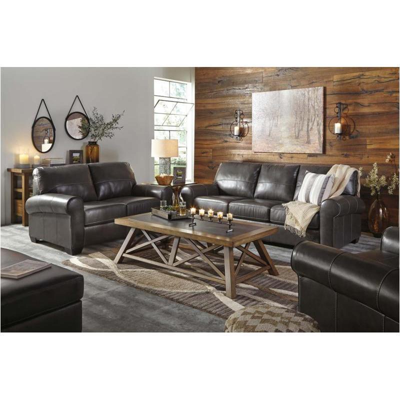 9800338 Ashley Furniture Canterelli Gunmetal Living Room