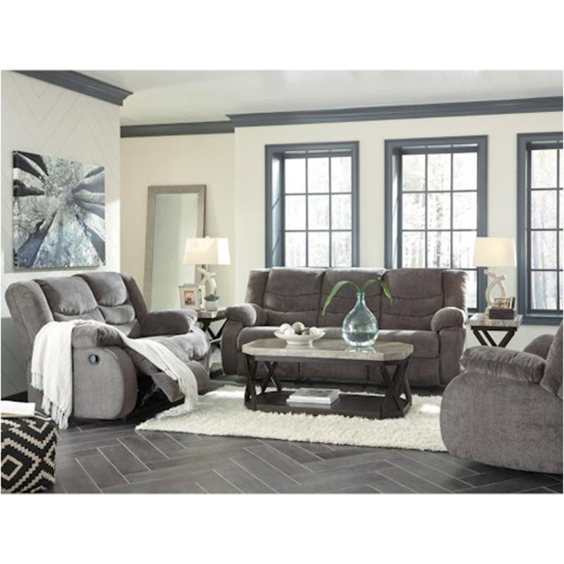 9860688 Ashley Furniture Tulen   Gray Living Room Recliner