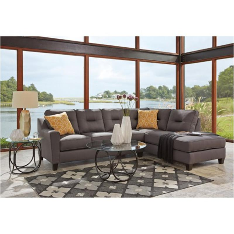 9960266 Ashley Furniture Kirwin Nuvella - Gray Laf Sofa