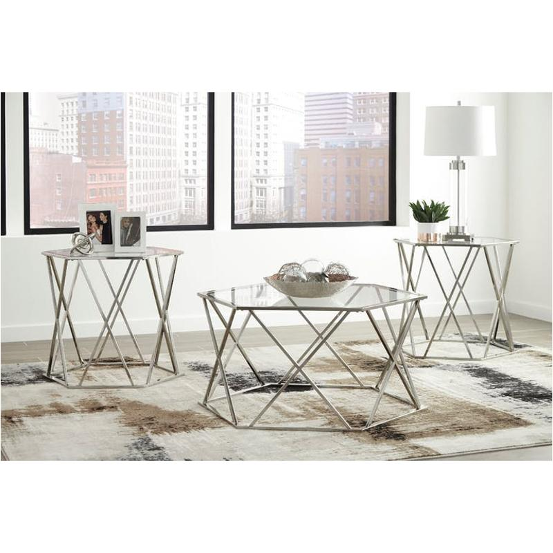 T049 13 Ashley Furniture Banilee Living Room Occasional: T015-13 Ashley Furniture Occasional Table Set (3 Cartons