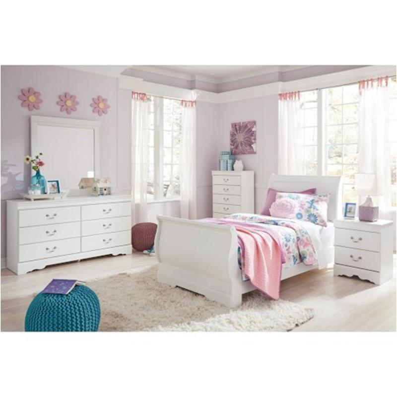 Fresh B129-63 Ashley Furniture Anarasia Bedroom Twin Sleigh Bed JX94