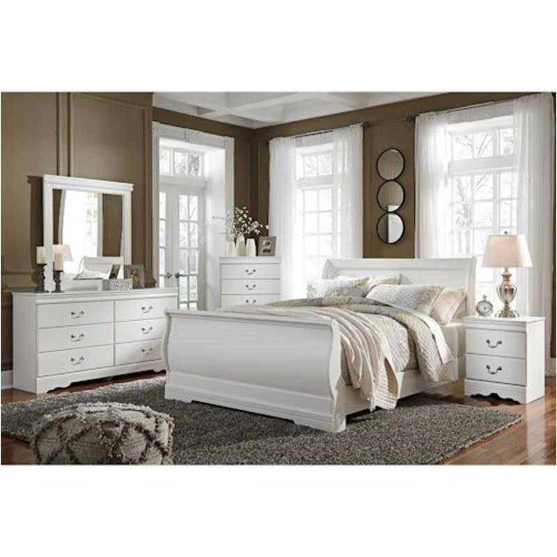 Ashley Home Furniture Bedroom Sets: B129-77 Ashley Furniture Anarasia Bedroom Queen Sleigh Bed