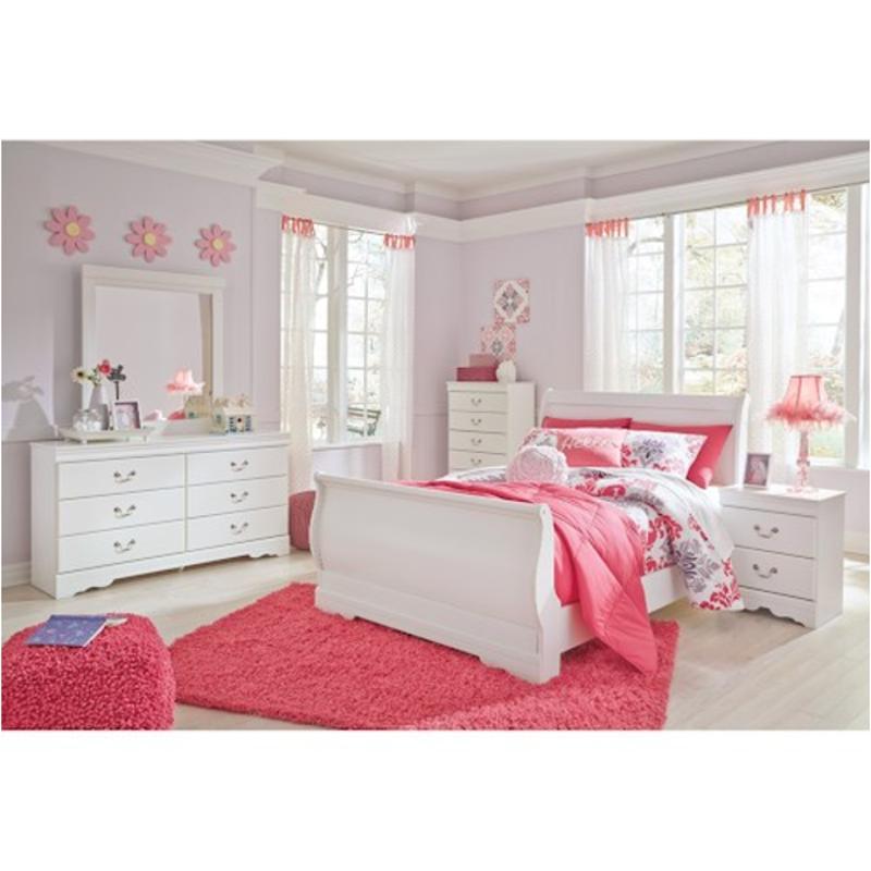 B129 87 Ashley Furniture Anarasia Bedroom Bed