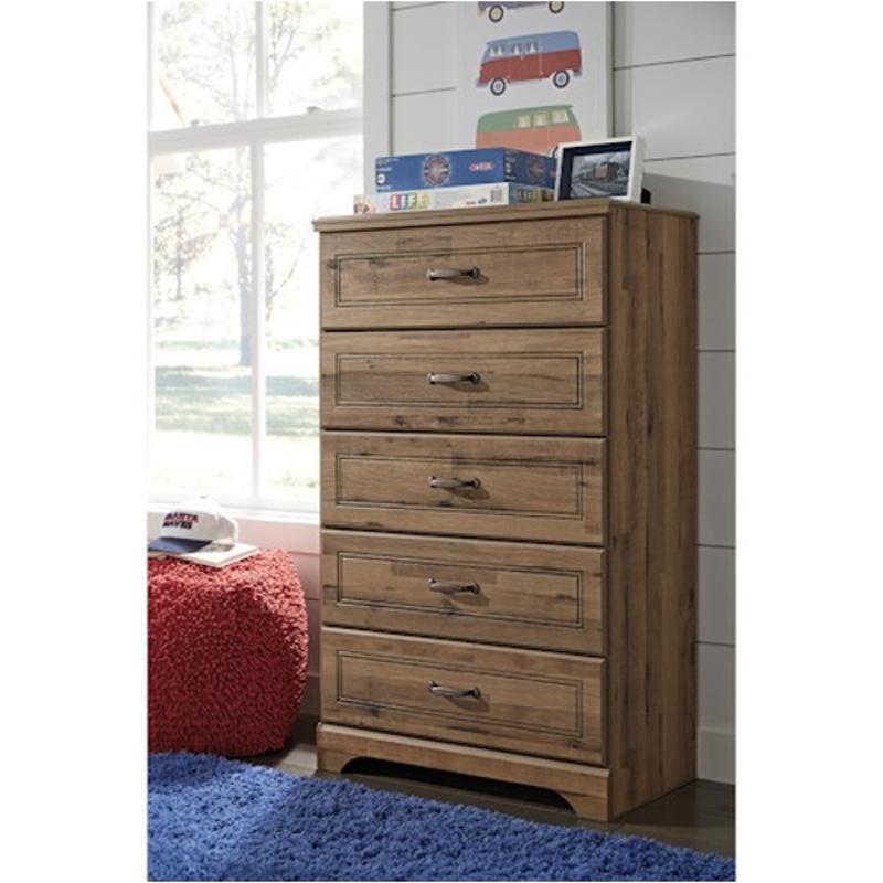 B173 46 Ashley Furniture Brobern Kids Room Five Drawer Chest