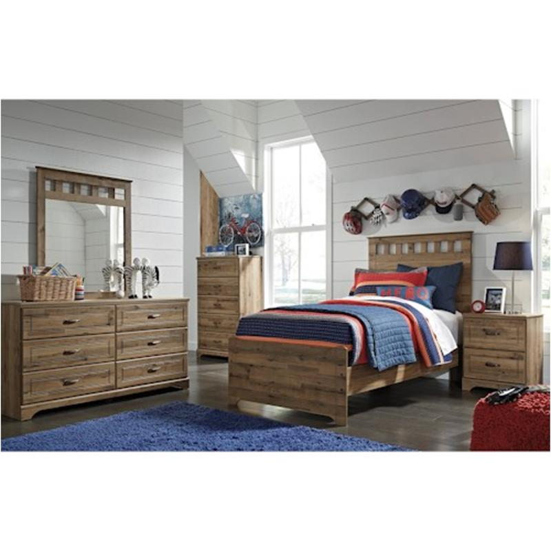 B173 52 Ashley Furniture Brobern Kids Room Twin Panel Bed