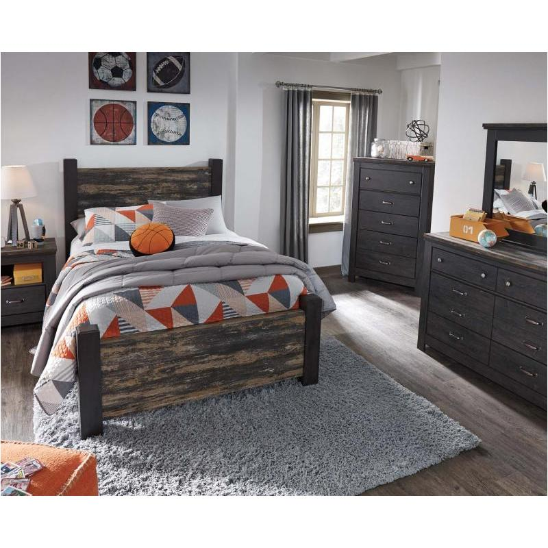 B189-67 Ashley Furniture Westinton Kids Room Full Poster Bed
