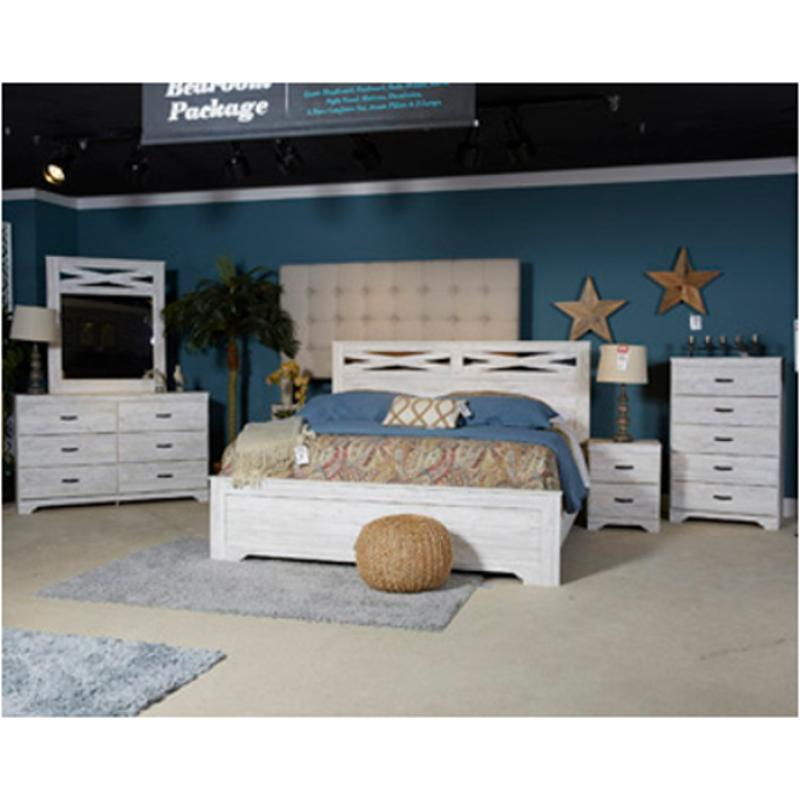 Ashley Furniture Sale In Store: B218-97 Ashley Furniture Briartown Bedroom Bed King Panel