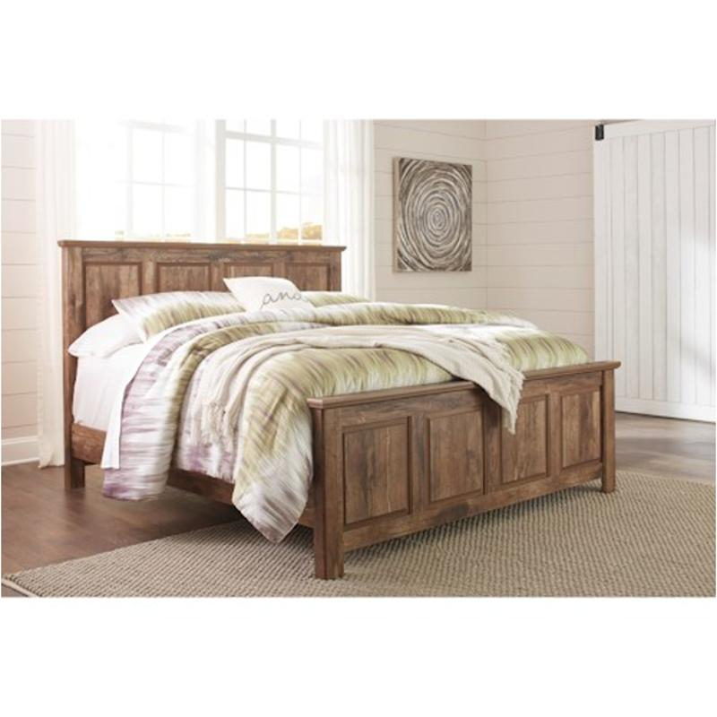 Ashley Furniture 14 Piece Package: B224-56 Ashley Furniture Blaneville Bedroom King Panel