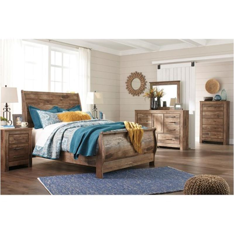B657 77 Ashley Furniture Queen Upholstered Bed: B224-77 Ashley Furniture Blaneville Bedroom Queen Sleigh Bed