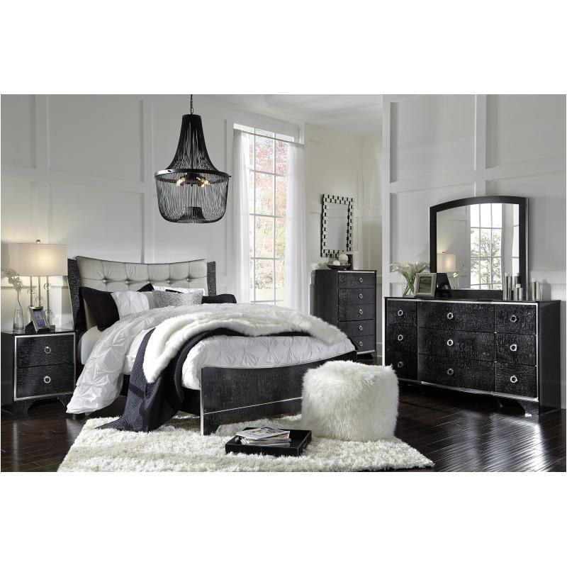 B257-57 Ashley Furniture Amrothi Queen Upholstered Panel Bed