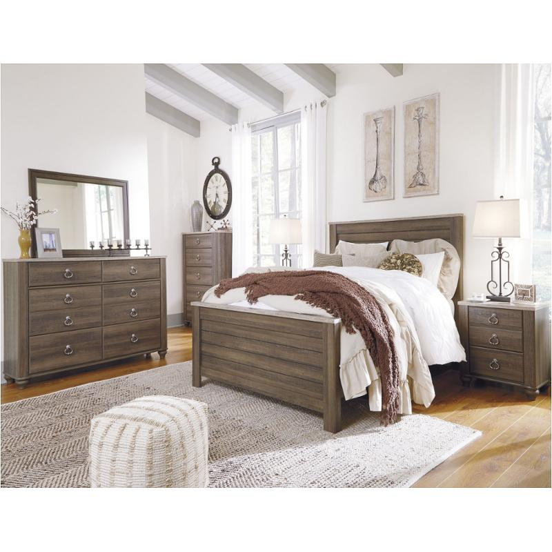 Ashley Furniture California: B268-58 Ashley Furniture King/california King Panel Bed