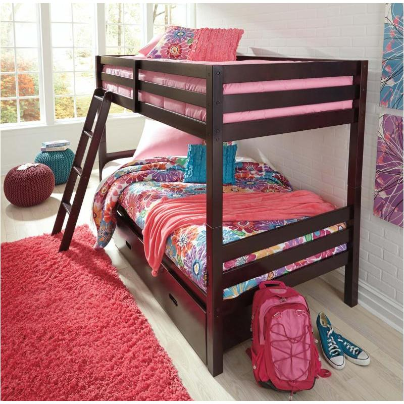new style 53962 6cc46 B328-59 Ashley Furniture Halanton Twin/twin Bunk Bed With Ladder