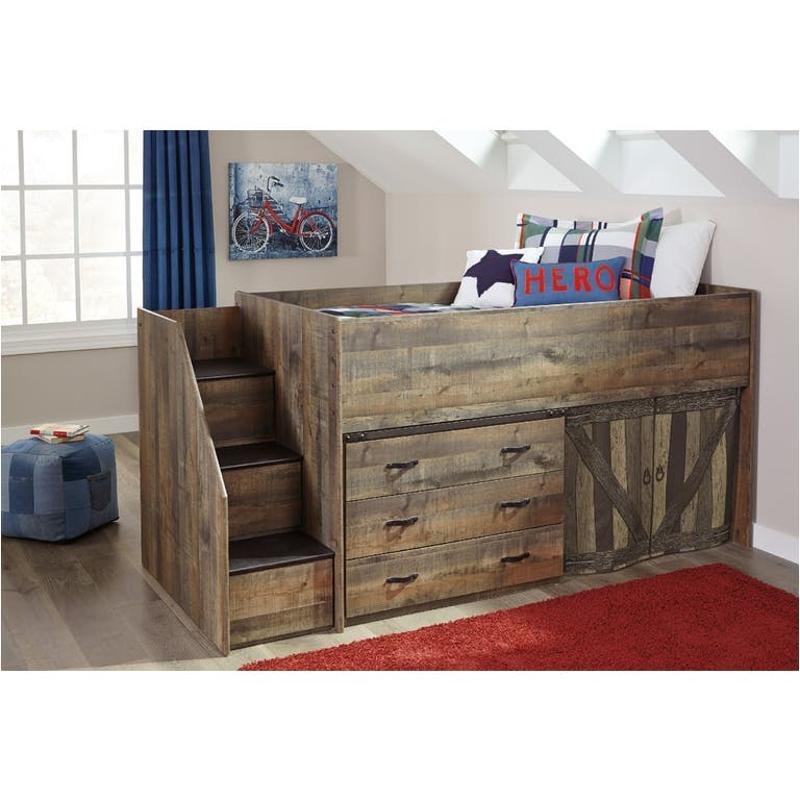 B446 13l Ashley Furniture Left Storage With Loft End
