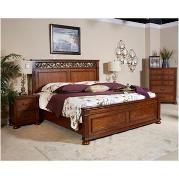 B529 58 Ashley Furniture Lazzene King California King Panel Bed