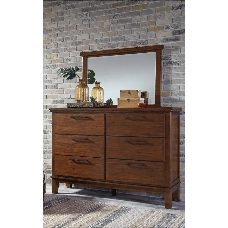 B594 31 Ashley Furniture Ralene Medium Brown Bedroom Dresser