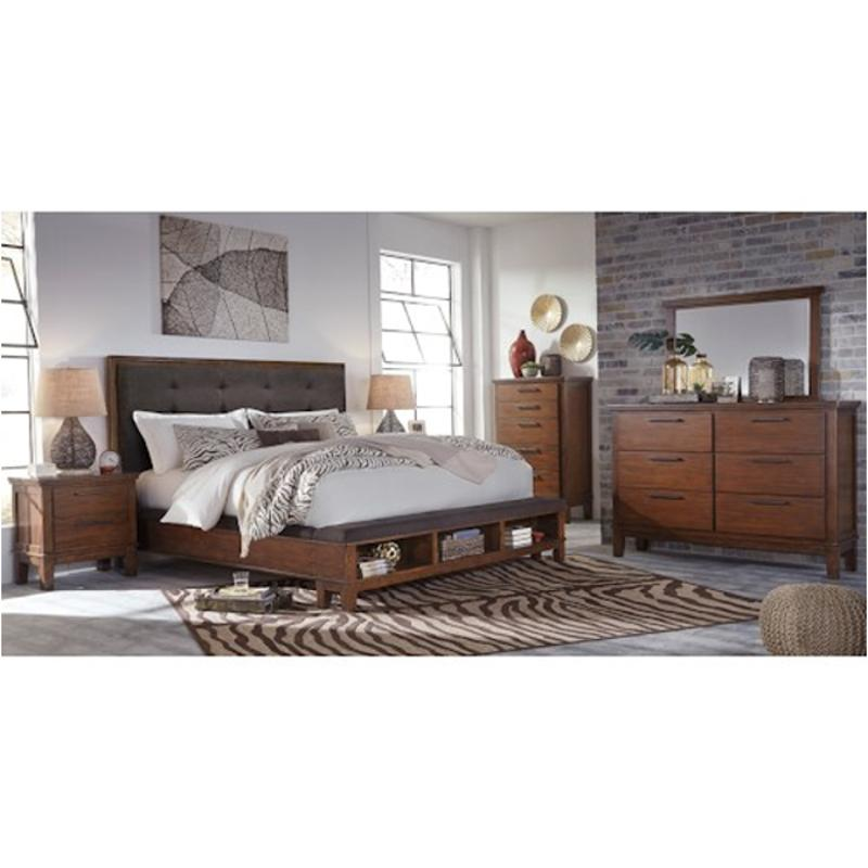 B594-57 Ashley Furniture Queen Upholstered Panel Bed