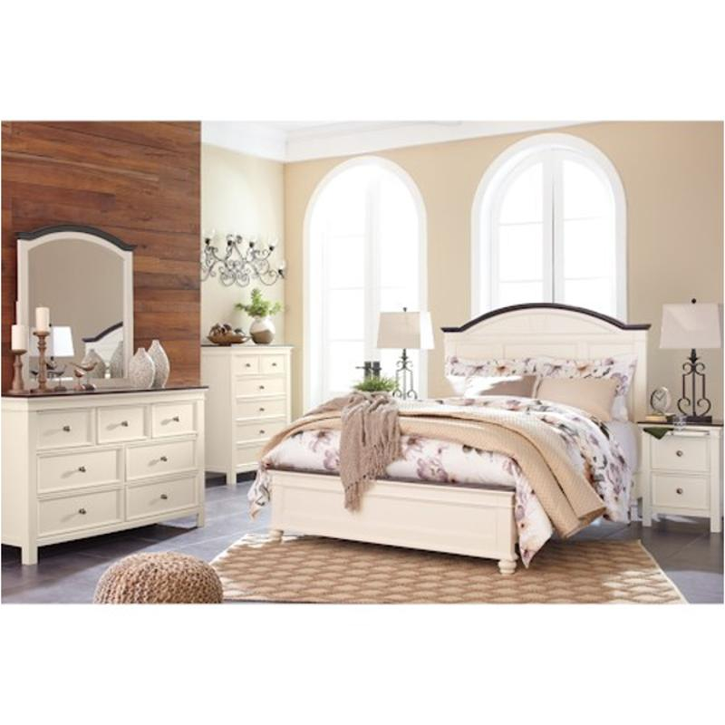Ashley Furniture California: B623-58 Ashley Furniture King/california King Panel Bed