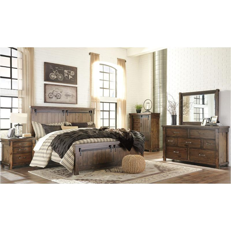 B718-57 Ashley Furniture Lakeleigh Bedroom Queen Panel Bed