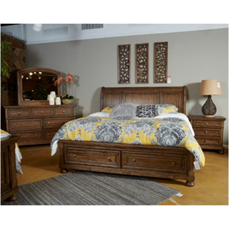 B719 78 Ashley Furniture Flynnter King California King Sleigh Bed