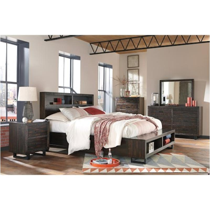 B721 65 St Ashley Furniture Parlone Bedroom Queen Storage Bed St