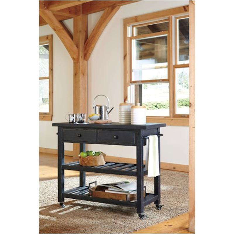 D300-266 Ashley Furniture Marlijo Kitchen Cart