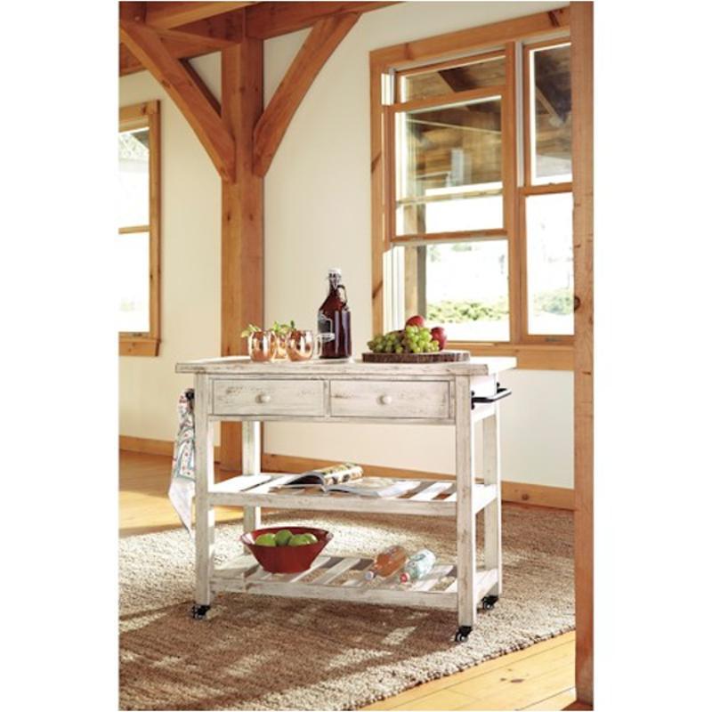 D300-766 Ashley Furniture Marlijo Kitchen Cart