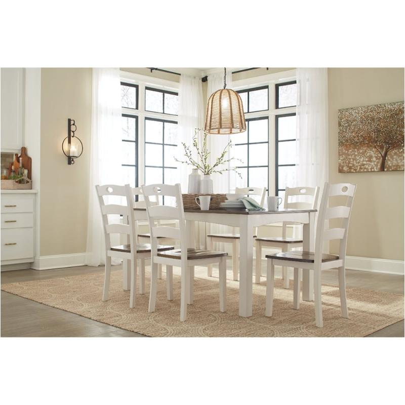 D335 425 Ashley Furniture Woodanville Dining Room Dining Table