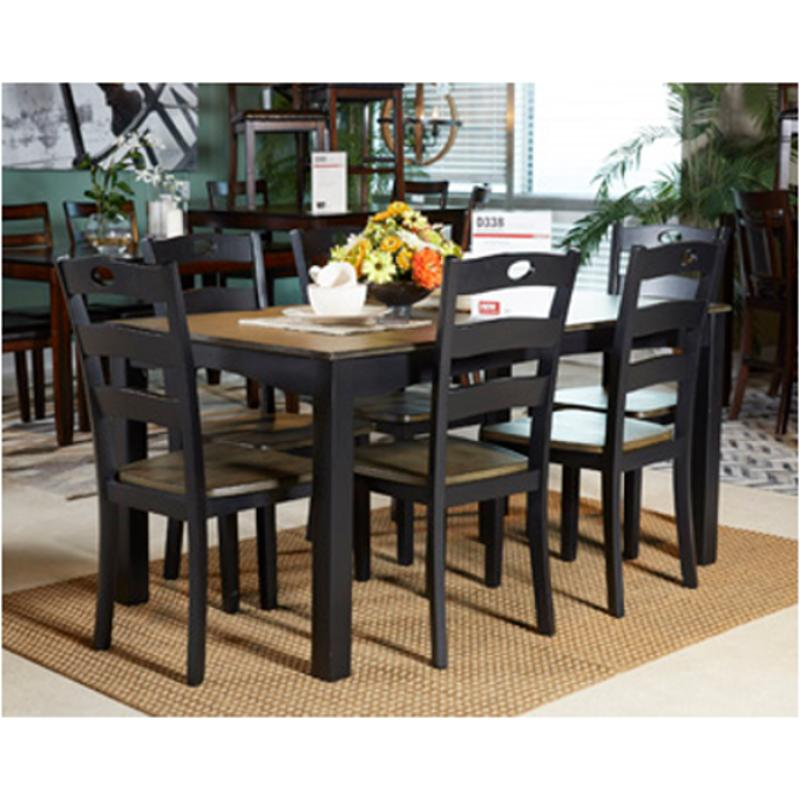 Ashley Dining Room Set: D338-425 Ashley Furniture Froshburg Dining Table Set (7/cn