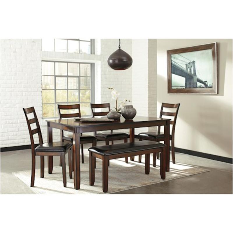 D385 325 Ashley Furniture Coviar Dining Table Set 6 Cn