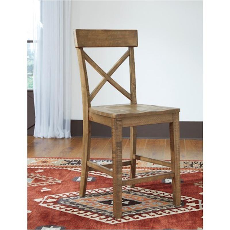 D659 124 Ashley Furniture Trishley Light Brown Barstool