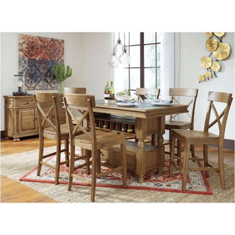 D Ashley Furniture Rectangular Counter Table With Storage - High top table ashley furniture
