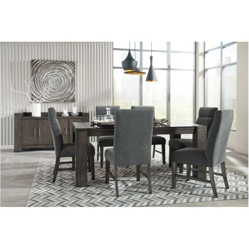 D667-25 Ashley Furniture Rectangular Dining Table With Glass Top
