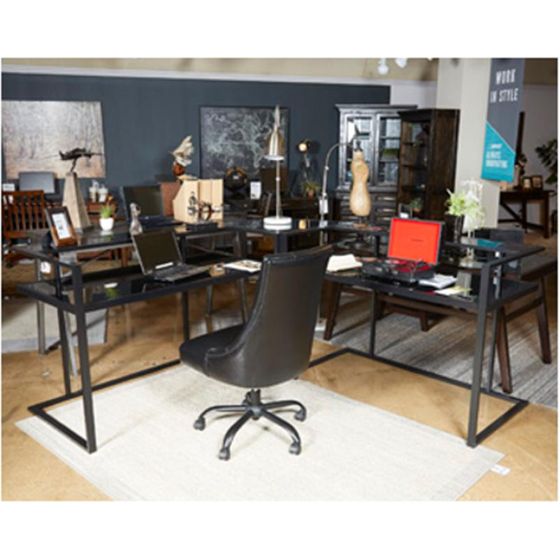 H180 24 ashley furniture laney home office corner desk - Home office corner desk furniture ...