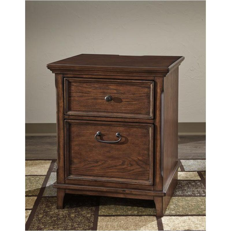 H478-42 Ashley Furniture Woodboro - Brown Home Office File Cabinet  sc 1 st  Home Living Furniture & H478-42 Ashley Furniture Woodboro - Brown Lateral File Cabinet