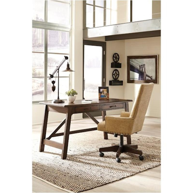 H675-44 Ashley Furniture Baldridge Home Office Large Leg Desk