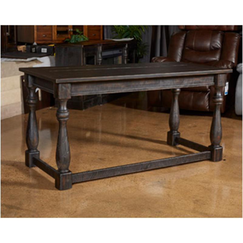 H Ashley Furniture Mallacar Black Home Office Desk - Ashley mallacar coffee table
