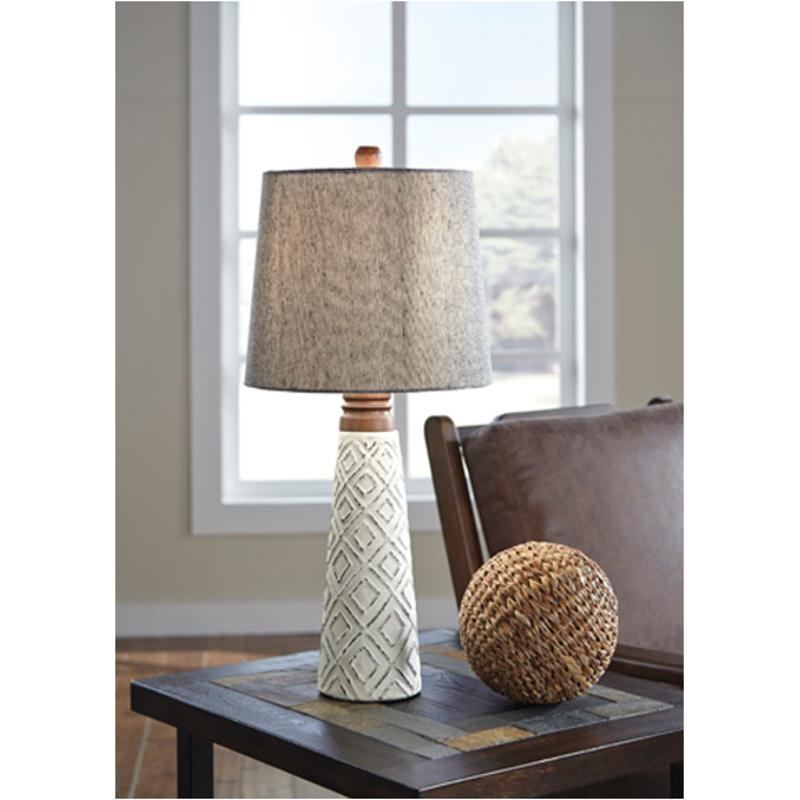 Ashley Furniture Sales Paper: L235564 Ashley Furniture Accent Lighting Paper Table Lamp