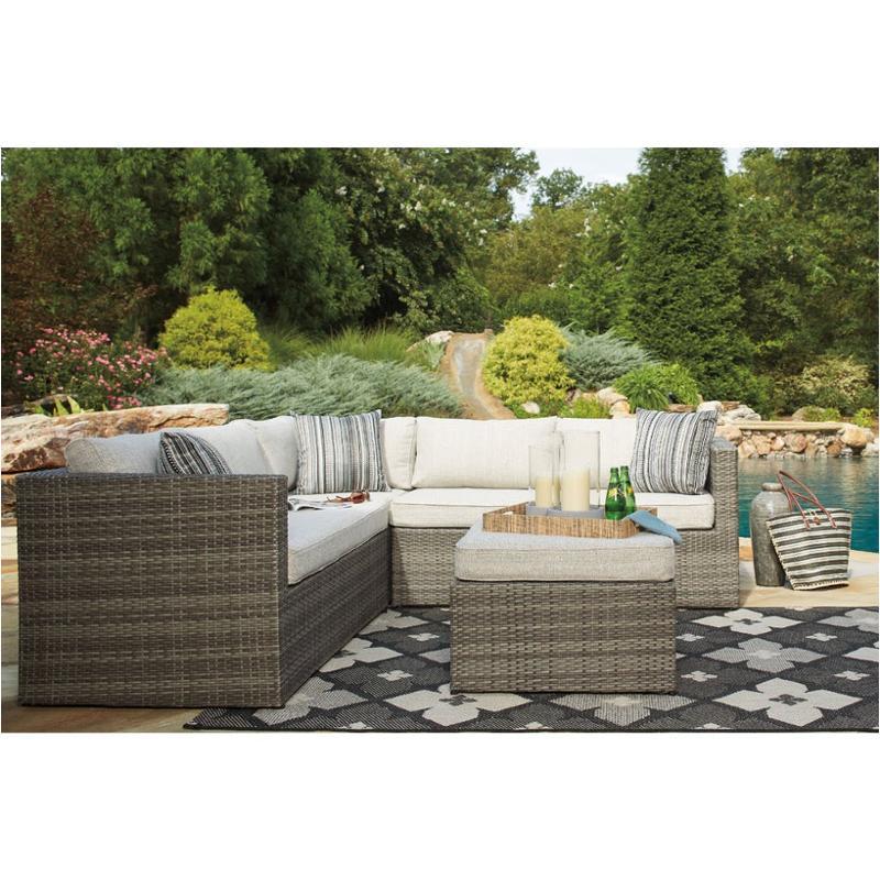 Good P320 880 Ashley Furniture Peckham Park Patio And Garden Loveseat