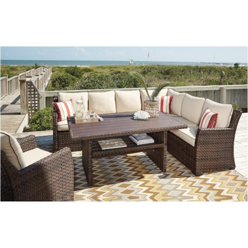 P451 625 Ashley Furniture Salceda Patio And Garden Accent Table