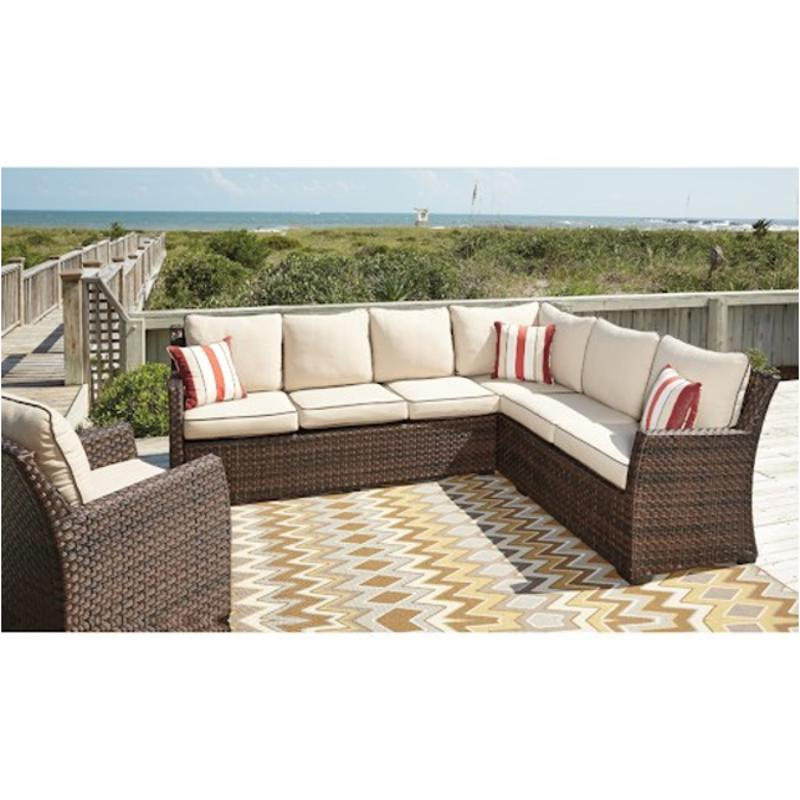 Ashley Furniture Sectional Sofa: P451-822 Ashley Furniture Sofa Sectional/chair With Cushion