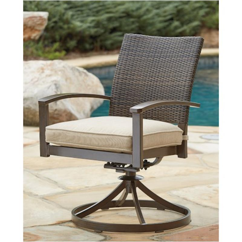Ashley Furniture 14 Piece Package: P457-602a Ashley Furniture Moresdale Swivel Chair With Cushion