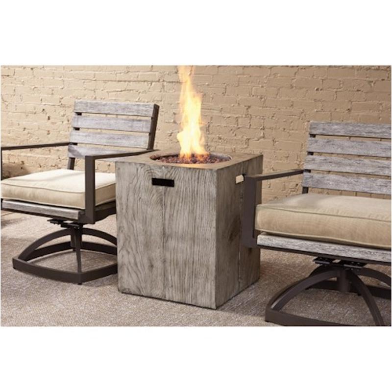 P655 901 Ashley Furniture Peachstone Patio And Garden Fire Column