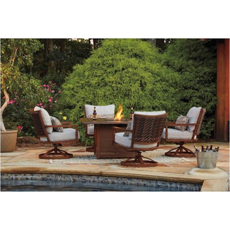 Fantastic P764 772 Ashley Furniture Zoranne Square Fire Pit Table Home Interior And Landscaping Staixmapetitesourisinfo