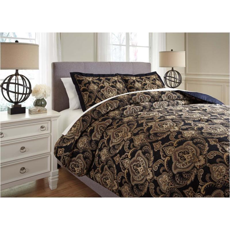 Comforter Sets Queen Ashley: Q327003q Ashley Furniture Bedding Queen Comforter Set