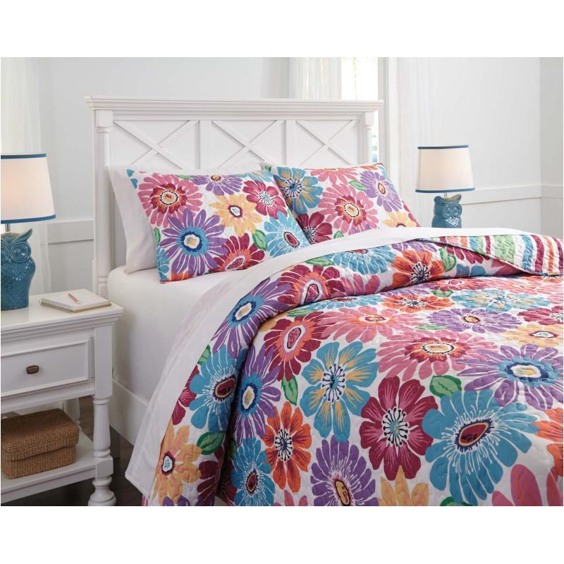 Q345003f Ashley Furniture Bedding Comforter Full Quilt Set