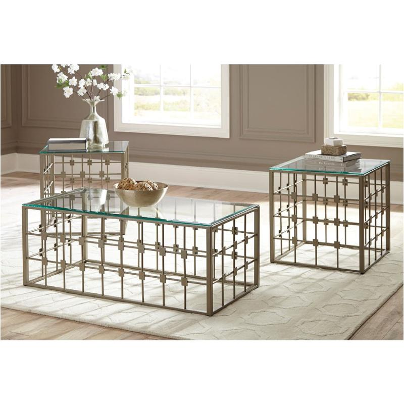 T049 13 Ashley Furniture Banilee Living Room Occasional: T014-13 Ashley Furniture Berrilyn Occasional Table Set