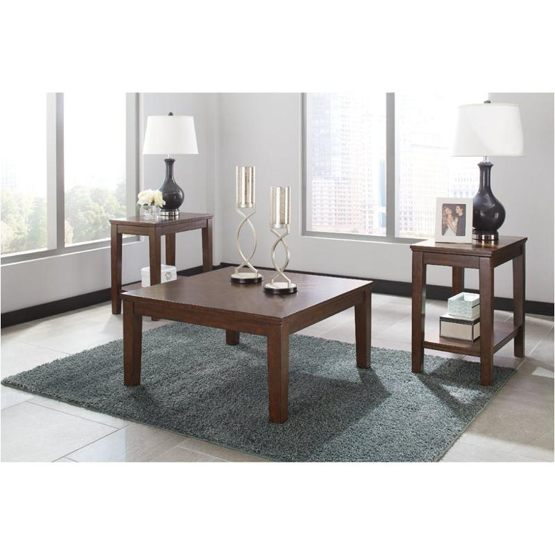 T052-13 Ashley Furniture Marlinton Living Room Occasional Table Set  sc 1 st  Home Living Furniture & T052-13 Ashley Furniture Marlinton Occasional Table Set
