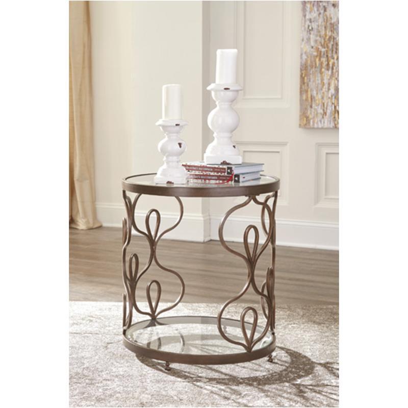 T086 6 Ashley Furniture Fraloni Living Room End Table
